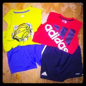 Boy's ADIDAS shorts sets